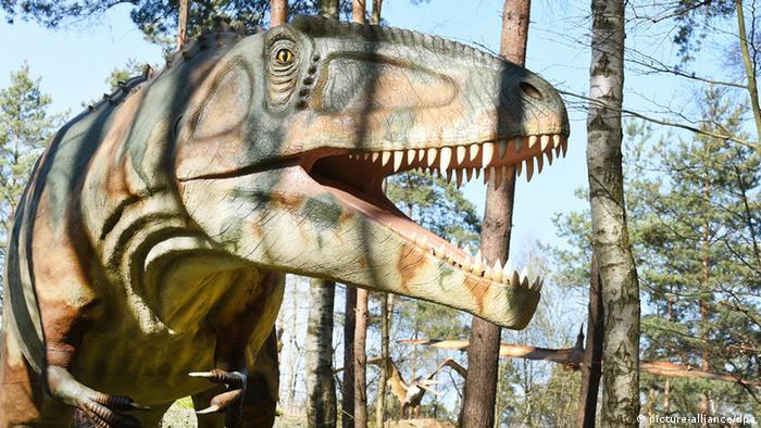 Giganotosaurus im Dino-Park in Münchehagen