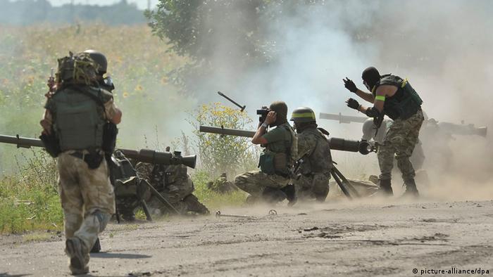 Ostukraine Angriffe 1.8.2014
