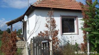 The Nagycsécs house