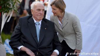 Гельмут Коль зі своєю другою дружиною Майке Коль-Ріхтер