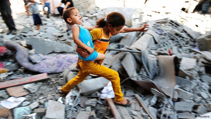 Gaza Israel Krieg Angriff 1. August