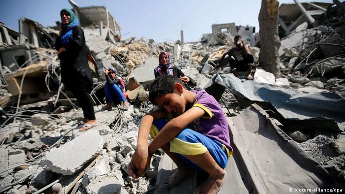 بیش از ۲۱۰۰ فلسطینی در درگیری با اسرائیل که تابستان ۲۰۱۴ هفت هفته به درازا کشید، کشته شدند