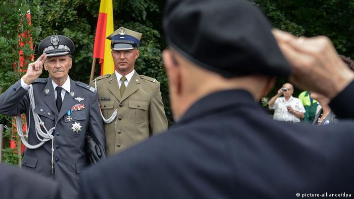 70. Jahrestag des Warschauer Aufstands 01.08.2014