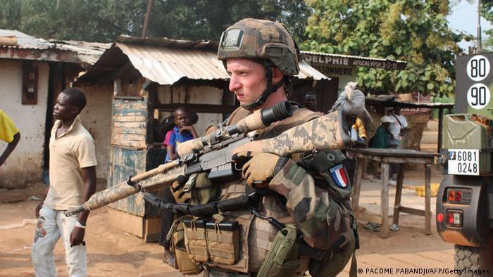 Symbolbild französische Soldaten in Afrika