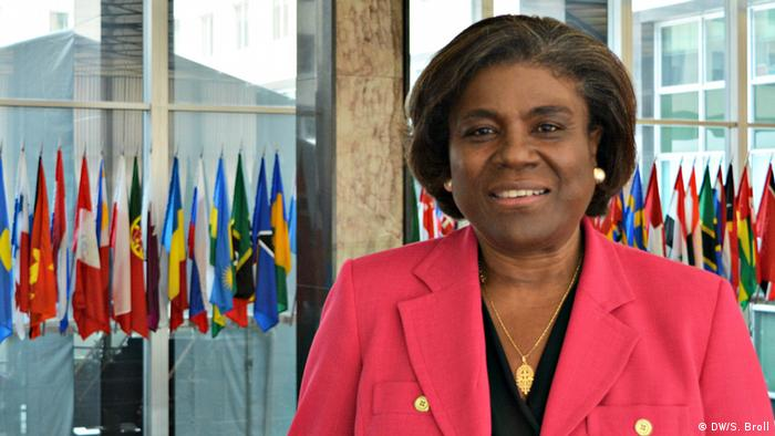 Linda Thomas-Greenfield, Job Biden's nominee to become the US ambassador to the UN