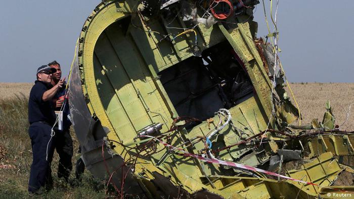 MH17 Absturzstelle Expertenkommission