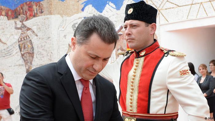 Mazedonien feiert den Nationalfeiertag