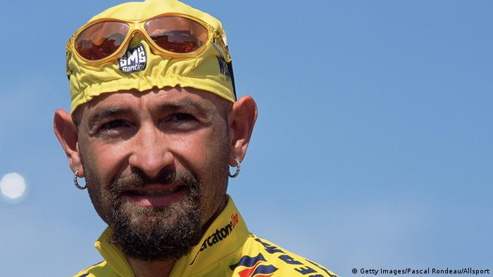 Marco Pantani im Portrait (Foto: Getty Images)