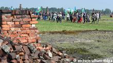 Sinti und Roma gedenken des Völkermords in Auschwitz