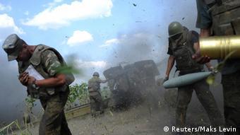 Бои под Луганском