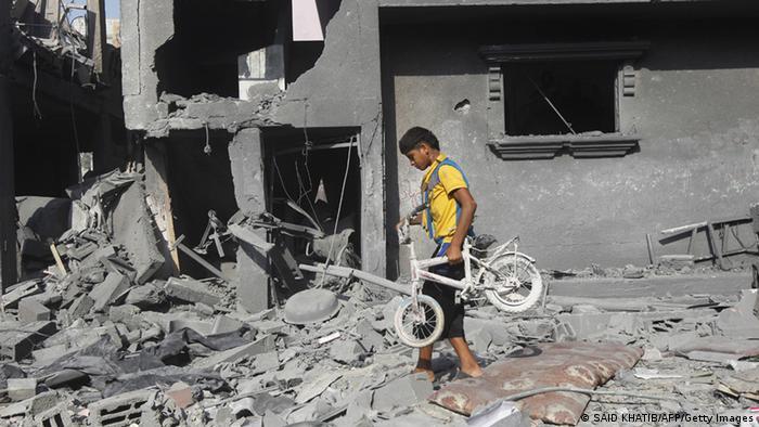 Nahostkonflikt Gazastreifen. (Foto: SAID KHATIB/AFP/Getty Images)