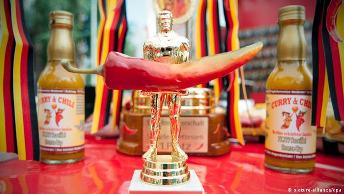 Weltmeisterschaft im Schärfe - Essen Trostpreis
