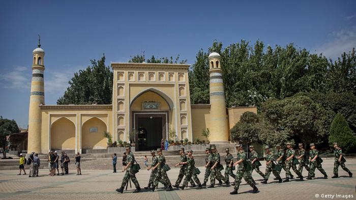 China Xinjiang Unruhen 31.07.2014 (Getty Images)