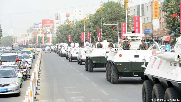 China Xinjiang Unruhen 2014
