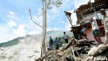 Bildergalerie Nepal Erdrutsch