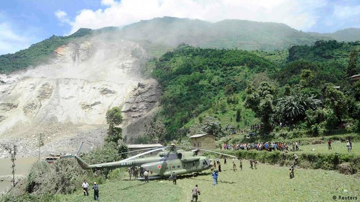 Bildergalerie Nepal Erdrutsch (Reuters)
