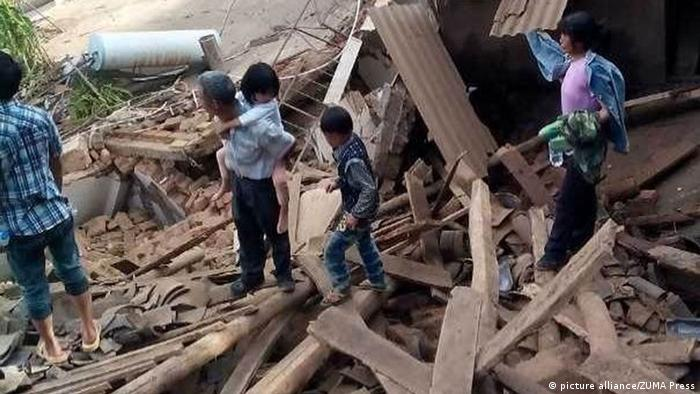Earthquake in China′s Yunnan province kills scores | News | DW ...