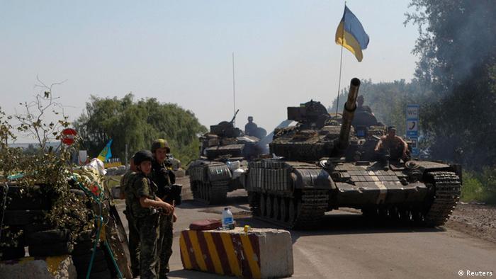 Ukraine Gefechte 3.8.2014