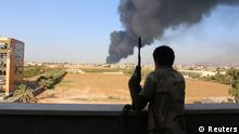 Libyen Tripolis Explosionen Kämpfe Zintan Brigade 03.08.2014