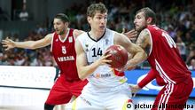 Basketball DBB Supercup 2014 Russland - Deutschland