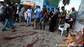 Beschuss von UN-Schule im Gazastreifen 03.08.2014