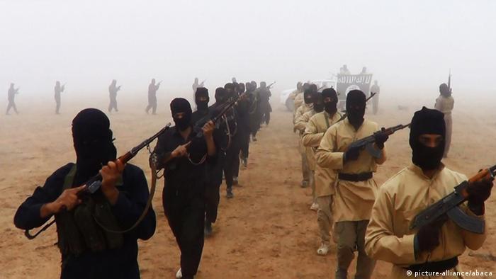 Propagandabild IS-Kämpfer