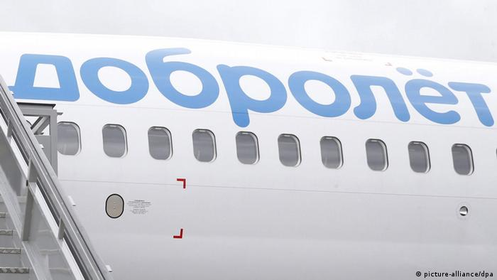 A Boeing 737-800 aircraft operated by the Dobrolet airline