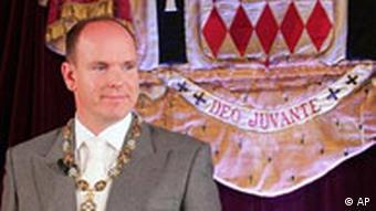 Feiern zum Herrschaftsantritt von Fürst Albert II.