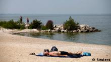 Eriesee USA Algenpest August 2014 (Reuters)