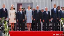 Gedenkfeier Erster Weltkrieg Lüttich Gauck Hollande Royals