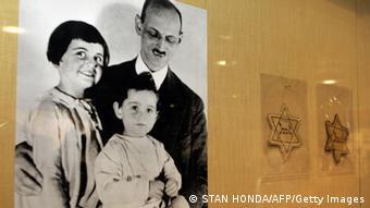 Anne Frank Ausstellung NEw York Anne, Otto und Margaret Frank