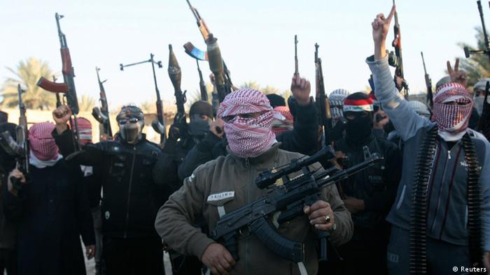 Irak Sunnitische Soldaten 4. August