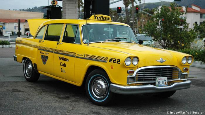 Yellow cab в Нью-Йорке