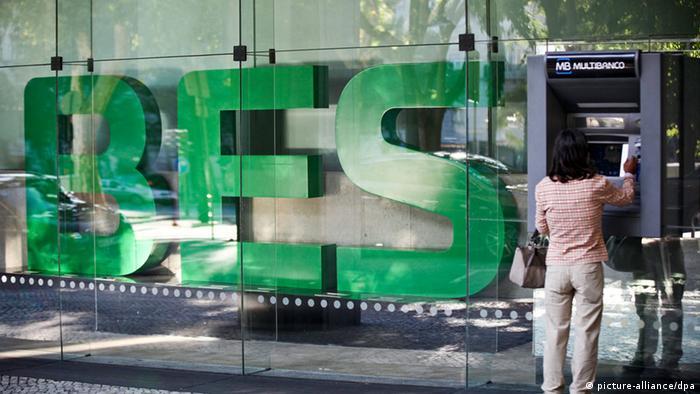 Die portugiesische Bank Banco Espirito Santo