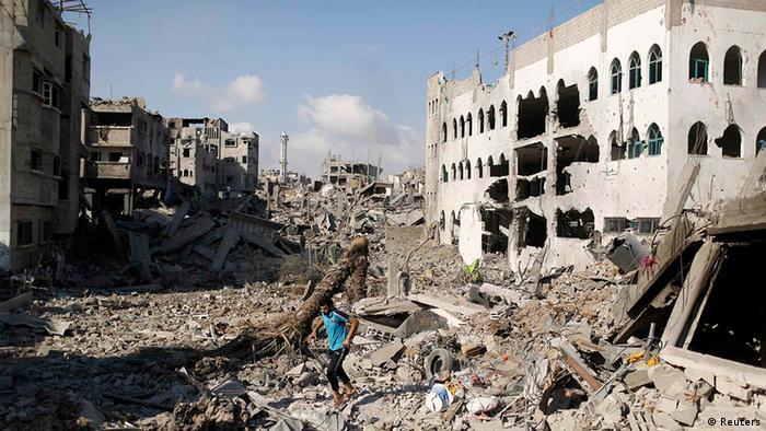 Palästinenser Gaza Israel Zerstörungen in Shejaia