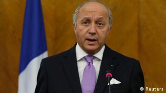 Frankreich Außenminister Laurent Fabius