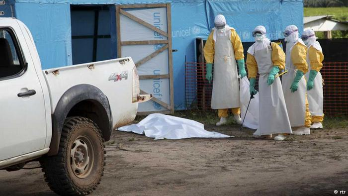 Ebolafälle (Foto: Reuters).