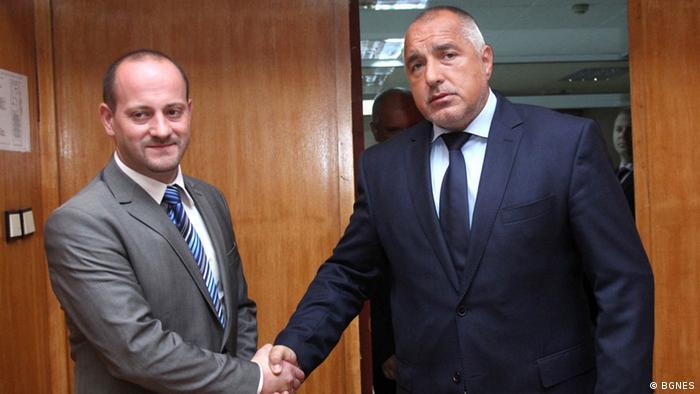 Bulgarien Radan Kunev und Boyko Borissov