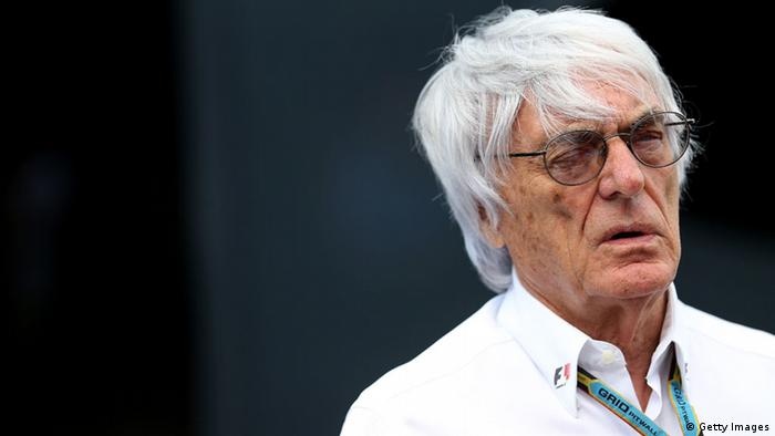 Formel-1-Chef Bernie Ecclestone Großaufnahme (Foto: Getty Images)
