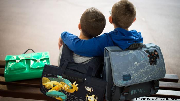 School children in Paris