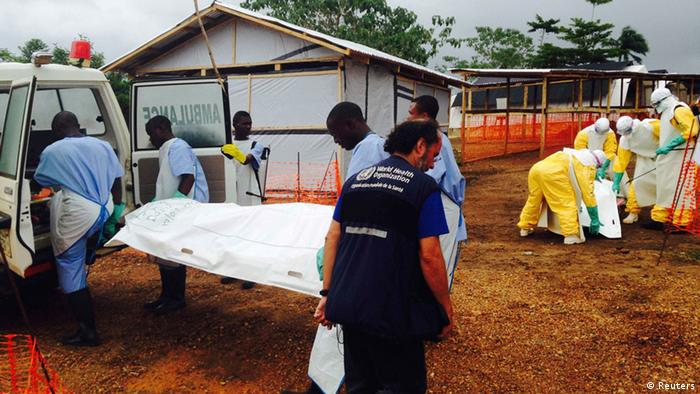Вірус еболи поширюється в країнах Африки