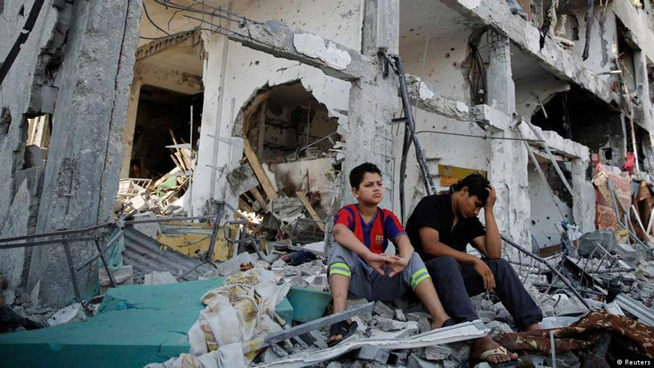 مراسلة DW: رائحة الموت والجثث المتفسخة تملأ هواء غزة | DW | 07.08.2014