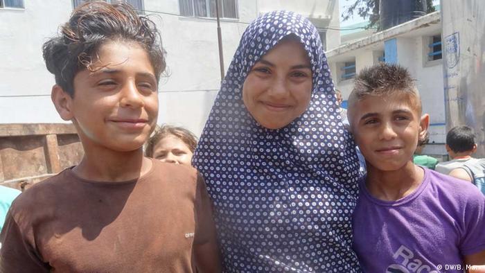 Gaza Feuerpause 5.8.2014 (DW/B. Marx)