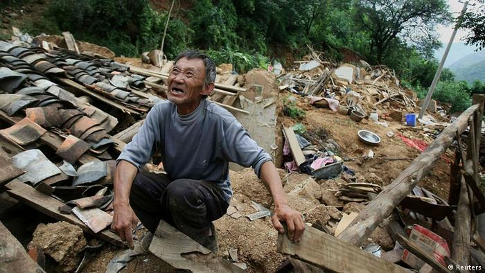 China Erdbeben Provinz Yunnan 05.08.2014