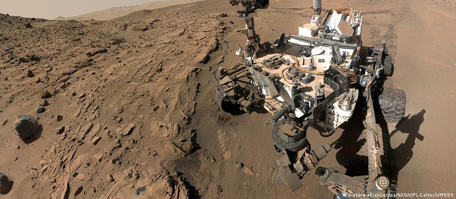 Sonda da Nasa Curiosity
