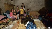 2472921 08/05/2014 Local people at the bomb shelter in Gorlovka, Donetsk Region. Mikhail Voskresenskiy/RIA Novosti