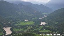 Sharda Fluss Indien Nepal