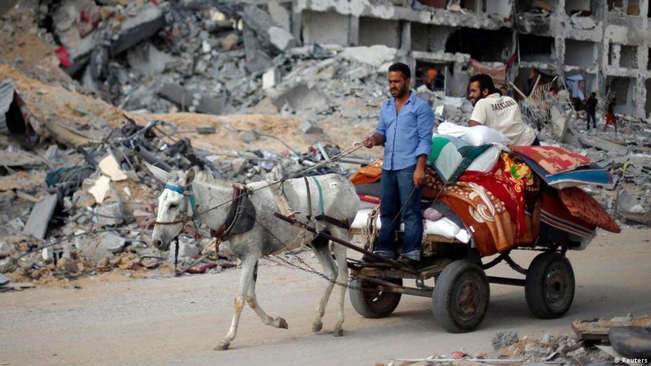 صمود الهدنة في غزة لليوم الثاني وجهود دبلوماسية مكثفة لتمديدها | DW | 06.08.2014