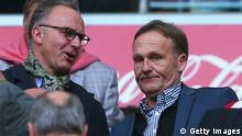 Bayern München und Borussia Dortmund Manager
