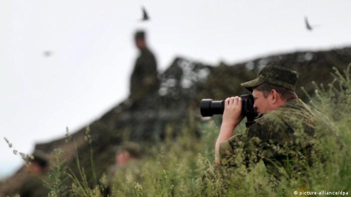 Військові навчання російської армії у 2014 році